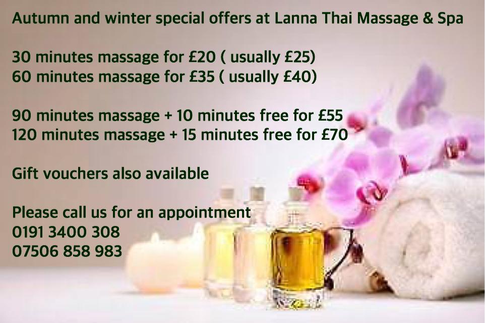 Lanna Thai Massage Newcastle